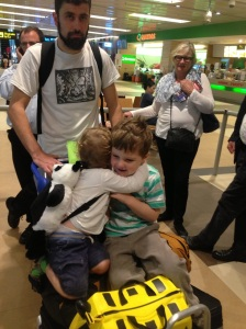 Five Ways to Usher Small Children Through an Airport without Losing or Killing Anyone